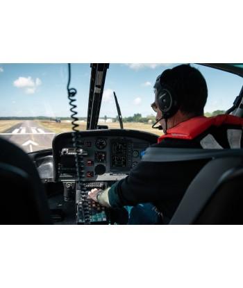 Initiation flight 45 min from Vannes on AS350