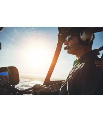 Initiation flight 60 min from Gap on AS350