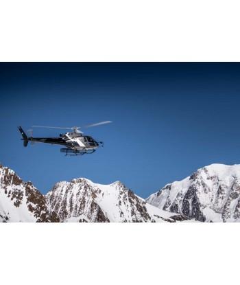 Survol Mont Blanc & ses Glaciers depuis Courchevel 50 min