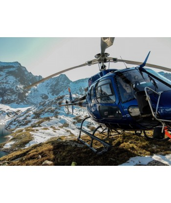 Maurienne Valley 20' panoramic flight on AS350