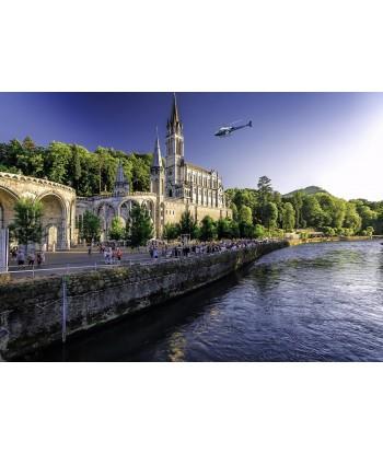 Survol du Sanctuaire de Lourdes 10 min
