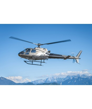 Gastronomic Flight at l'Auberge Nemoz from Grenoble on AS350