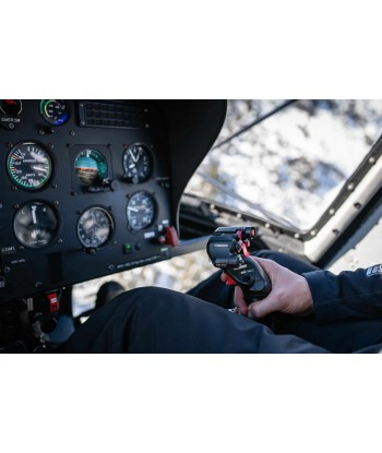 Initiation flight 20 min from Toussus on Robinson R44