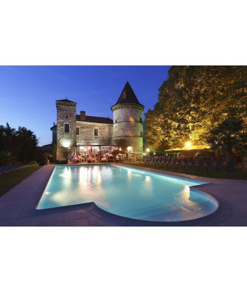 Gastronomic Flight from Lyon to Château Chapeau Cornu