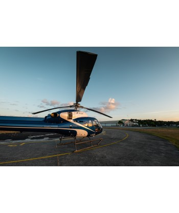 30 min lesson flying from Toussus on AS350