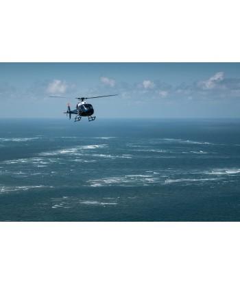 Initiation flight 30 min from Vannes on AS350