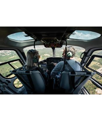 Initiation flight 60 min from Vannes on AS350